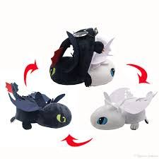 2019 Hot New 13 33cm Toothless Dragon Plush Doll Light Fury Night Fury Inside Out Cushion Pillow Anime Collectible Stuffed Dolls Gifts Soft Toys From