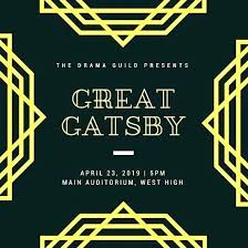 Great Gatsby Invitation Template Great Gatsby Invitations Template Amartyasen Co
