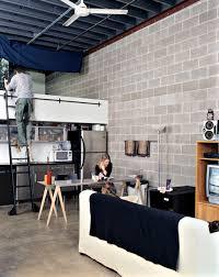 Bedroom: Bedroom Lofted With Full Kitchen - Modern Loft Beds