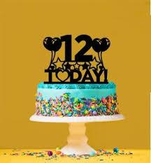 12th Birthday Cake Topper 12 Years Old Twelfth Ebay