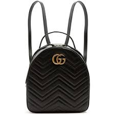 gucci backpack. gucci gg marmont quilted-leather backpack t