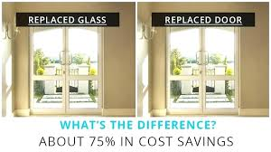 replace door with window replace glass shower door with curtain cost on 6 plus replacing front replace door with window