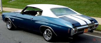 454 SS Chevelle, AC, build sheet, highly optioned, blue on white