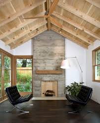 vaulted ceiling vaulted ceiling fireplace ideas rustic basement