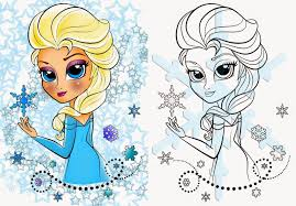 Coloring Page: Elsa from Frozen Free Printable Coloring Page ...