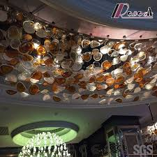 china fashion and round big size glass ceiling lamp with lobby china ceiling lamp round lamp