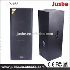 concert stage speakers. jp 153 jusbe professional speaker dual 15\u0027 woofer 15 inch concert stage speakers