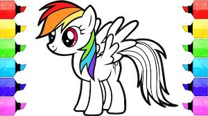 How To Draw Little Pony Coloring Pictures At Coloring Page