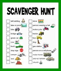 scavenger hunt ideas lists and planning scavenger hunts hunt s great list of ideas and ways to plan a fun scavenger hunt