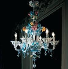 venetian glass chandelier antique