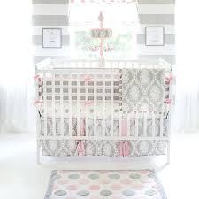 polka dots crib bedding pink and gray polka dot crib sheet baby girl crib fitted sheet