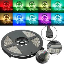 5M RGB Non-Waterproof 300 LED <b>SMD5050 LED Strip</b> Light for ...