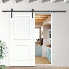 classic bent strap sliding track hardware 2 panel primed classic bent strap sliding track hardware 2 popular bypass barn door