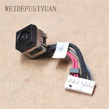dc power jack with wire harness for dell alienware 14 m14x r1 r3 in Wire Harness Schematic at Computer Wire Harness