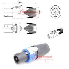 speakon connector wiring diagram wiring wiring diagram instructions speakon connector pinout at Speakon Connector Wiring Diagram
