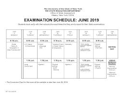 June 2019 Regents Exam