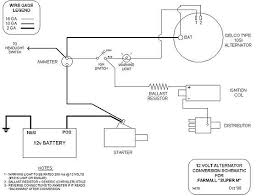 two wire alternator wiring diagram wiring diagram schematics chevy alternator wiring diagram the h a m b yesterday s tractors step by step 12 volt conversion