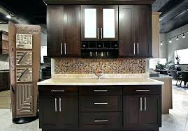 pictures of dark kitchen cabinets with light countertops white wood floors for stock