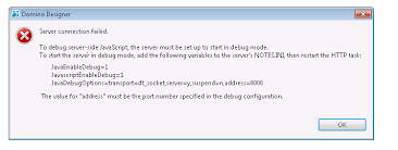 remote java debugging in xpages is dropped after a short time lotus notes admin jobs
