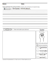 This set of easter writing prompts focuses on some of the basics of the religious and if you enjoyed these prompts, buy the entire collection of 1,000 writing prompts for holidays on amazon. Writing Prompt Easter Asl Teaching Resources