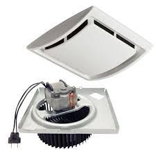 quickit 60 cfm 2 5 sones 10 minute bathroom exhaust fan upgrade kit