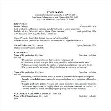 Boston College Resume Template Best Of Boston College Resume Template College Of Liberal Arts Resume In