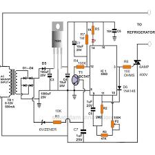 refrigerator compressor. refrigerator compressor protector circuit, image