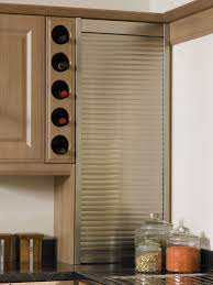 Modern Kitchen : Accordion Kitchen Cabinet Doors Rectangle Clear ...