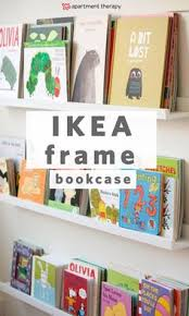 20 ways to use ikea s ribba picture ledge all over the house this ikea diy bookcase is the perfect e saver for any small e or great way to