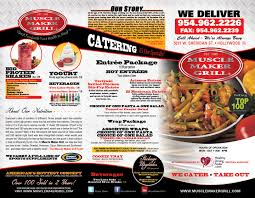 restaurant menu maker free muscle maker grill menu design printing in miramar fl