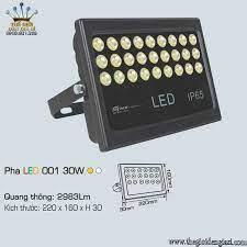 Đèn Pha Bản Hiệu LED Anfaco 001 30W ɸ220