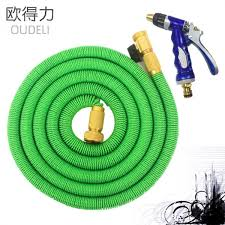2017 high quality 25ft 100ft garden hose expandable magic flexible water hose hose plastic hoses pipe with coppe to wateringhome garden