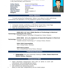 Resume Format Free Download In Ms Word 2007 Resumes On Microsoft Word Resume Templates Label For Myenvoc 60