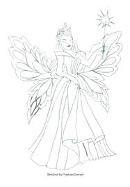 Coloring Pages Of Fairies Coloring Pages Fairies Fairy Coloring