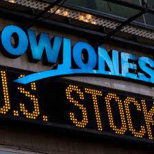 Dow Jones- experiencing a fall- a ...