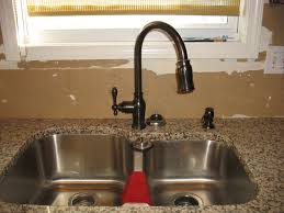 stainless steel farmhouse sink stainless steel sink with oil rubbed bronze faucet