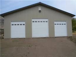 10 ft garage doorLarge 3 Stall RV Garage  RV Garage Buildings