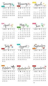 Free Printable: Fully Editable 2017 Calendar Templates In Word ...