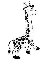 Printable Coloring Pages coloring page giraffe : Giraffe Head Coloring Pages | Clipart Panda - Free Clipart Images