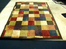 multi colored rugs color area com inside bright decor 7 striped kitchen