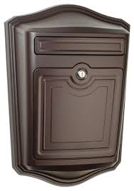 vertical wall mount mailbox. Architectural Mailboxes - Maison Locking Wall Mount Mailbox, Oil Rubbed Bronze Vertical Mailbox A