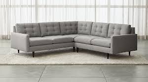 Lounge II Petite 2-Piece Sectional Sofa ...