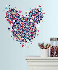 roommates minnie mouse heart confetti