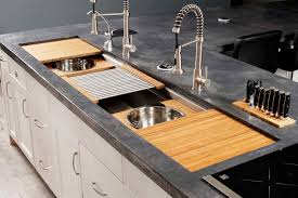 the galley sink. Interesting Galley IWS 7 Large Stainless Steel Kitchen Sink Natural Bamboo Culinary Kit In The Galley Sink H