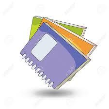 notebooks cartoon style design vector stock vector 55546167