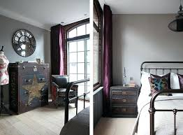 image cassic industrial bedroom furniture. Industrial Room Decor View In Gallery Bedside Table And Bedroom With Classic Charm Image Cassic Furniture S