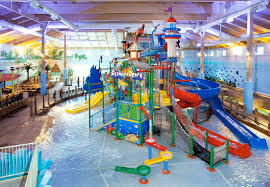 the indoor water park at coco key water resort