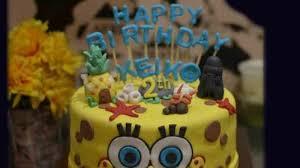 Novian Bikin Kue Tar Dihiasi Tokoh Kartun Barbie Spongebob Jadi
