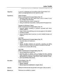 Career Objectives Resume Example Musiccityspiritsandcocktail Com