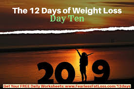 Weight Loss Worksheets The 12 Days Of Weight Loss Day Ten Free Weight Loss Tips